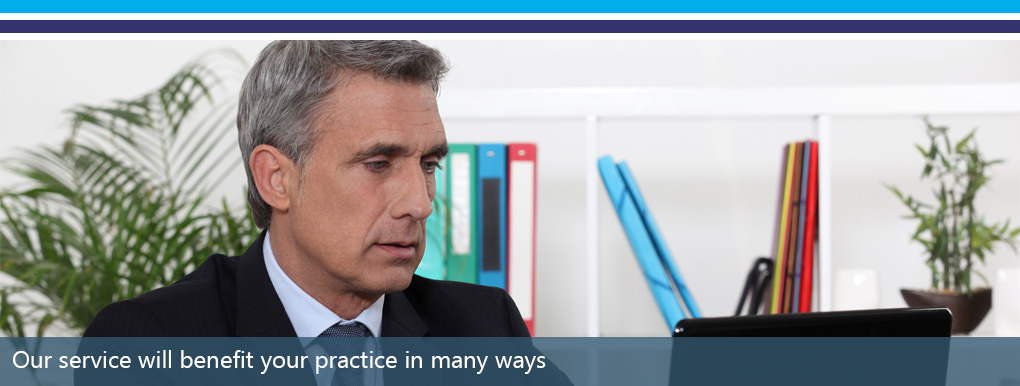 How we benefit your practice banner